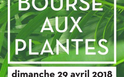 BOURSE AUX PLANTES 29/4/2018