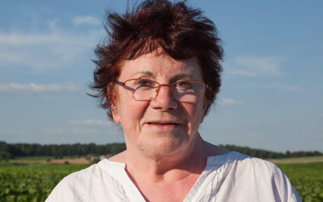 Francine PLAPIED N°16 sur la liste ECOLO à Beauvechain