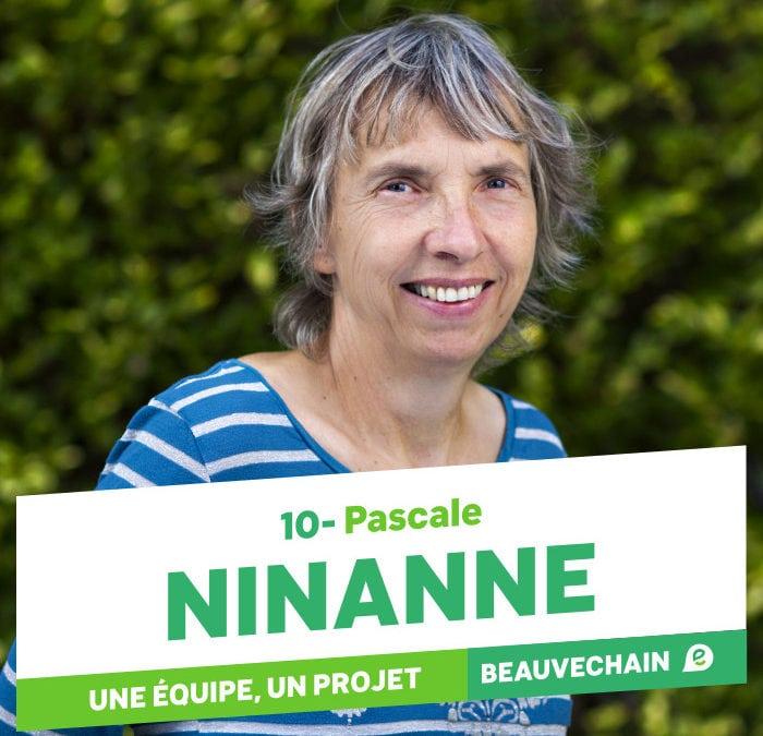 Pascale NINANNE N°10 sur la liste ECOLO à Beauvechain