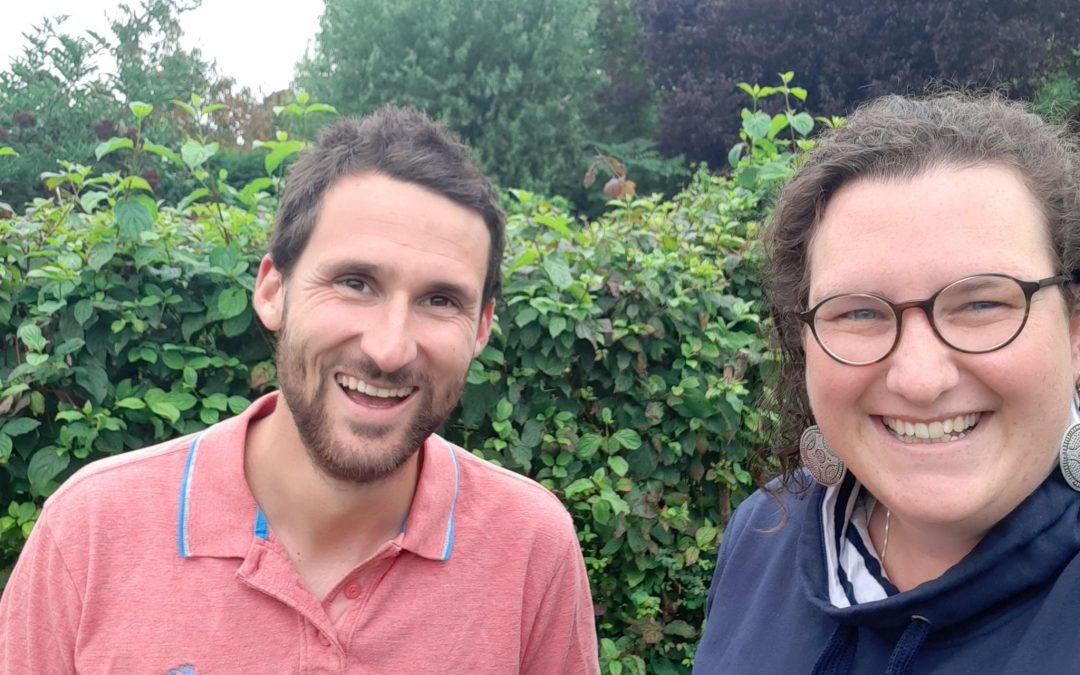 Depuis 6 mois, Valentine Boone et Quentin Robinson sont les présidents de la locale écolo de Beauvechain.